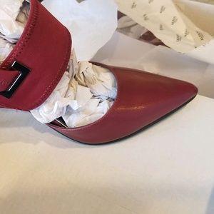 NIB  Dark red sling back  Alfani shoes.